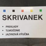 PVC tabuľa s plnofarebnou potlačou a laminom