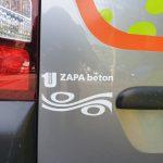 Označenie auta - logo spoločnosti ZAPA