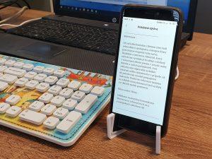 Čítanie a prepisovanie textov