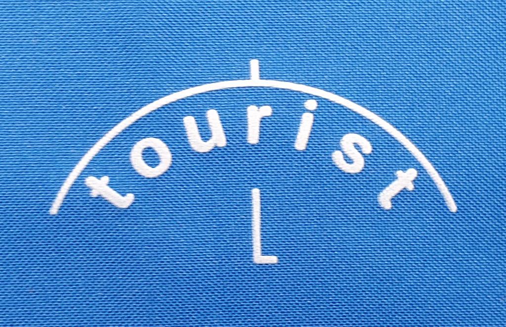 Turistický dáždnik logo
