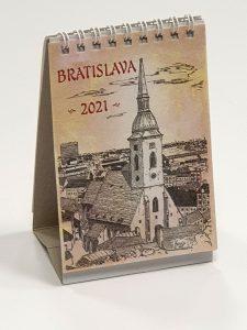 Bratislava minikalendár