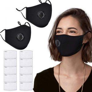 Kvalitné bavlnené ochranné rúška s filtrom
