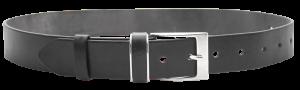 Pánsky kožený opasok Deluxe čierny