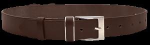 Pánsky kožený opasok Deluxe hnedý