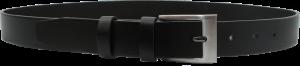 Pánsky kožený opasok - čierny