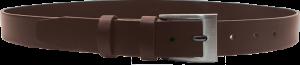 Pánsky kožený opasok - hnedý