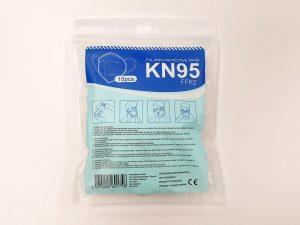 Respirátor KN95 / FFP2 balenie po 10 ks